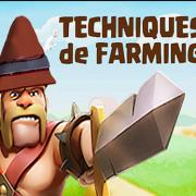 Farming logo clash of clans barbare