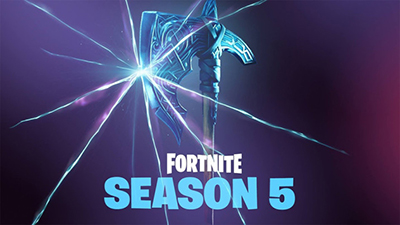 Fortnite saison 5 hache blog