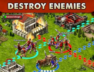 Game of war fire age bataille en ligne dragon