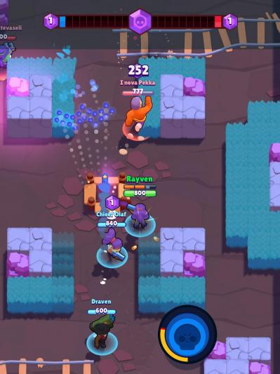 Gameplay brawl stars caverne de cristal smash grab
