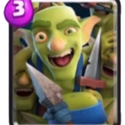Gang de gobelins carte commune clash royale