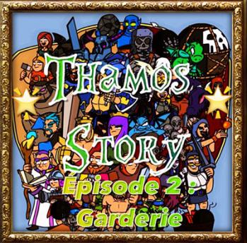 Garderie papys warriors clash of clans thamos story ep2