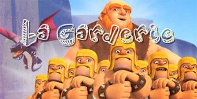 Garderie papys warriors recrue clash of clans