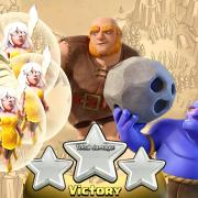 Gihebo compo gdc 3 etoiles clash of clans 1