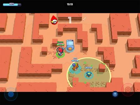 Glitch robo rumble max time brawl stars