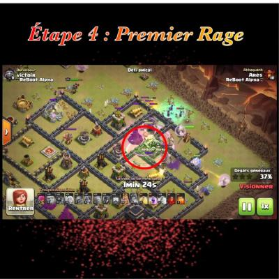 Glorious walk etape 4 rage clash of clans