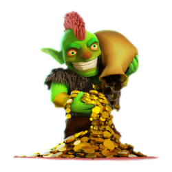 Gobelin or pille clash of clans