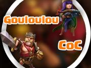 Gouloulou coc illustration youtubeur clash of clans