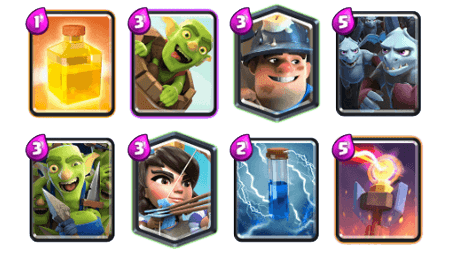 Guerison deck clash royale 1