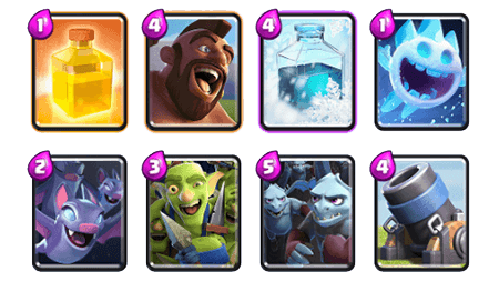 Guerison deck clash royale 2