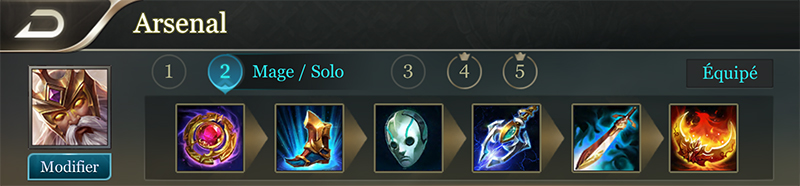 Guildur mage solo build arena of valor