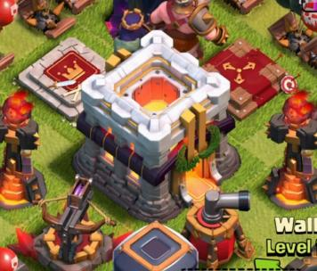 Hdv 11 clash of clans officiel supercell