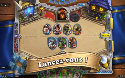 Hearthstone jeu strategie carte combat arene