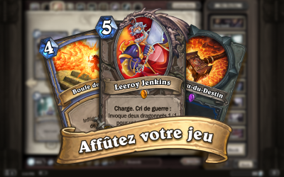 Hearthstone jeu strategie carte deck