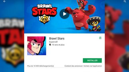 Installer brawl stars play store