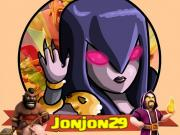 Jonjon29 image illustration youtubeur clash of clans