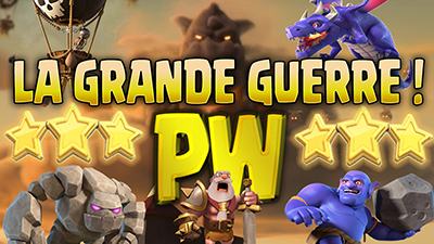 La grande guerre papyathlon clash of clans blog