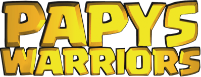 Logo papys warriors communaute jeux video mobile