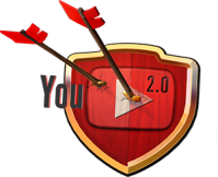 Logo youtube family clash of clans