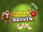 Logo youtube rayven papys warriors