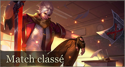Match classe arena of valor