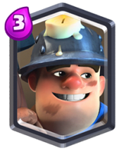 Mineur carte legendaire clash royale