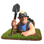 Mineur troupe clash of clans francais