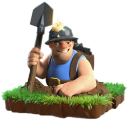 Mineur troupe clash of clans