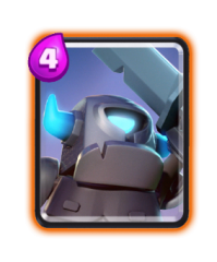 Mini pekka carte rare clash royale