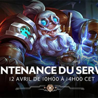 Mise a jour arena of valor 12 avril
