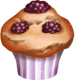 Muffin a la mure hay day