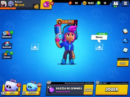 New ui shelly star brawl stars