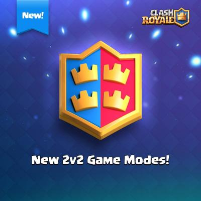 Nouveau defi 2c2 sneak peek clash royale