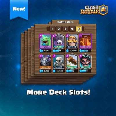 Nouveau slot sneak peek clash royale