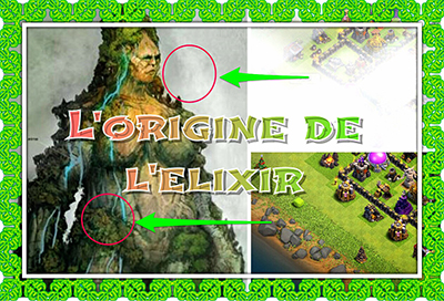 Origine de l elixir clash of clans