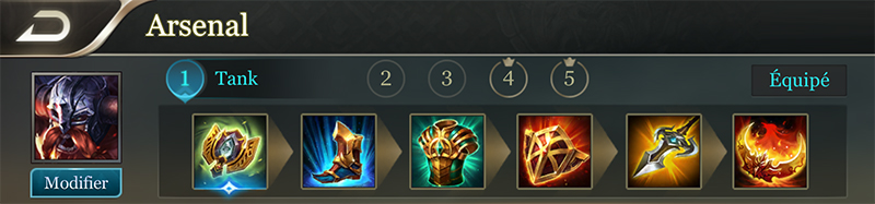 Ormarr build support arena of valor