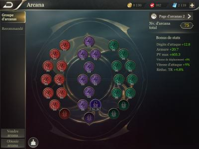 Page arcana guide arena of valor