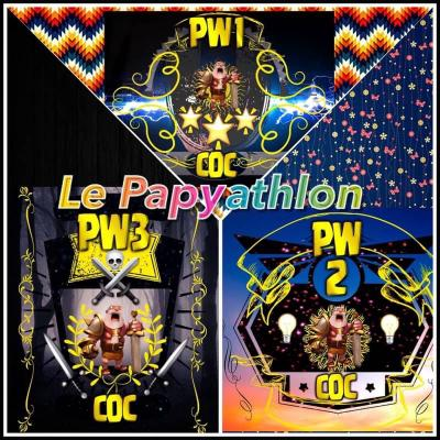 Papyathlon clash of clans