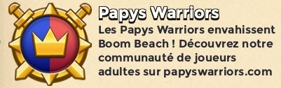 Papys warriors force speciale boom beach