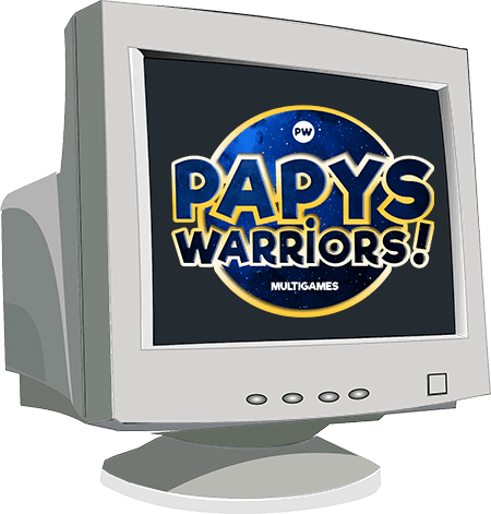 Papys warriors jeux video pc beta