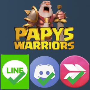 Papys warriors line discord skitch