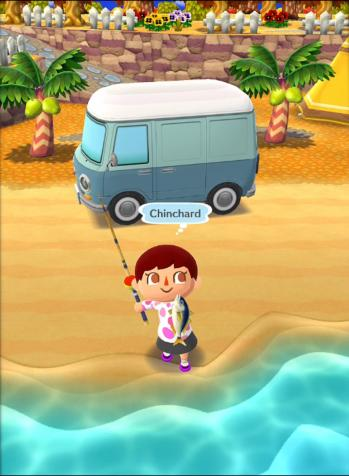Peche poisson capture ecran animal crossing pocket camp