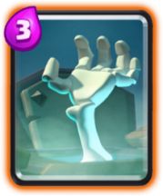Pierre tombale carte rare clash royale