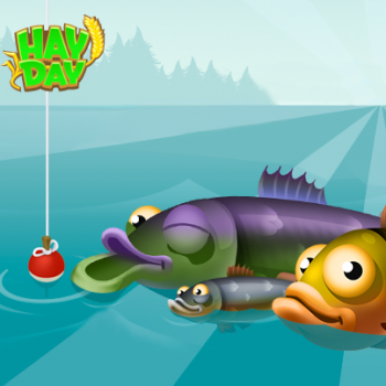 Poissons clin d oeil appat hay day 2