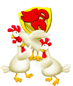 Poules symbole papys farmers voisinage hay day