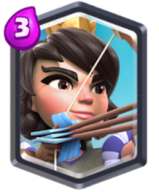 Princesse carte legendaire meta clash royale