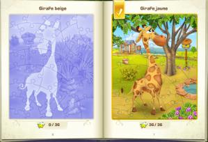 Puzzle girafe hay day