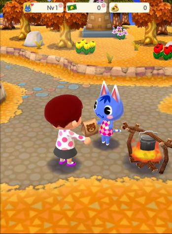 Service rosie pomme recompense capture animal crossing pocket camp