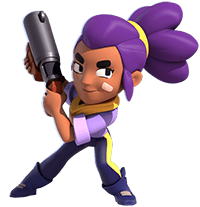 Shelly 3d 200 brawl stars
