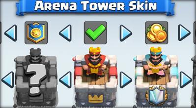 Skin tour du roi clash royale